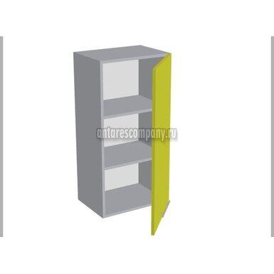 Шкаф однодверный глухой кухня Базис Linewood ширина 450 мм высота 960 мм Модуль №31