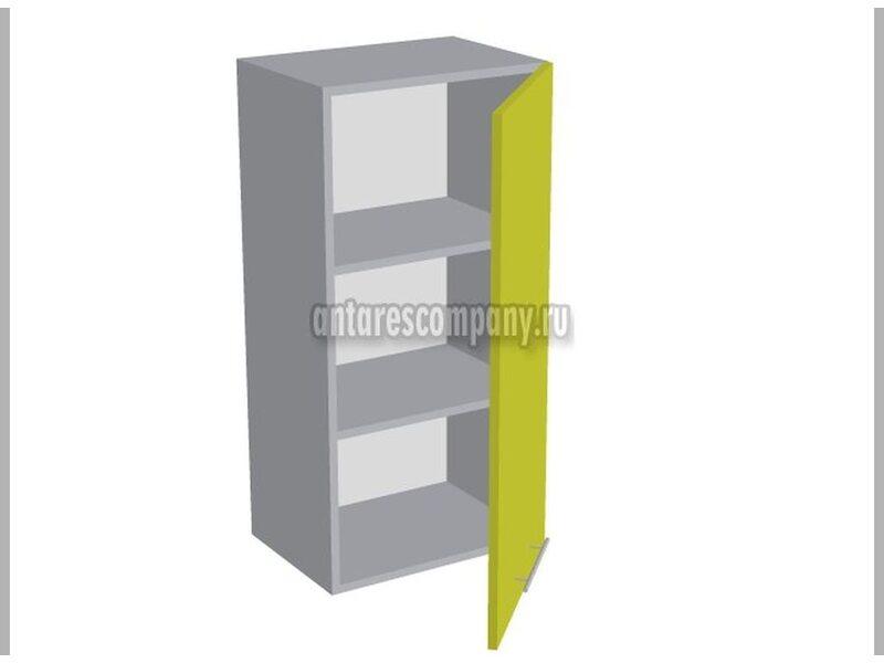 Шкаф однодверный глухой кухня Базис ширина 450 мм высота 960 мм Модуль №31