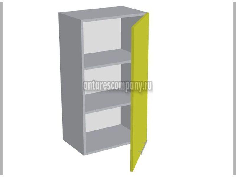 Шкаф однодверный глухой кухня Базис Nicole-Wood ширина 500 мм высота 960 мм Модуль №32
