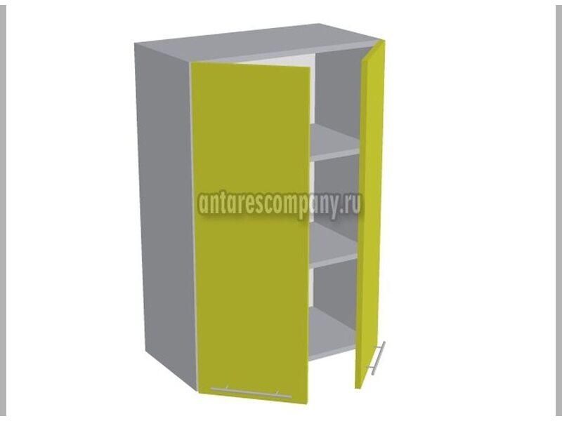 Шкаф двухдверный глухой кухня Базис Nicole ширина 600 мм высота 960 мм Модуль №40