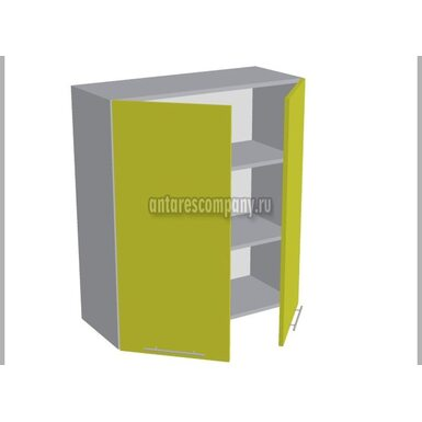 Шкаф двухдверный глухой кухня Базис Миксколор ширина 800 мм высота 960 мм Модуль №42