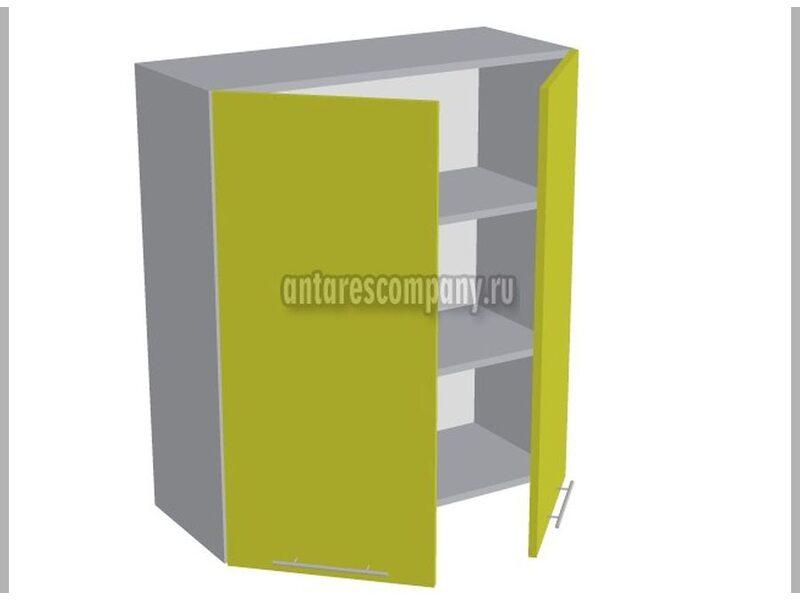 Шкаф двухдверный глухой кухня Базис Вудлайн ширина 800 мм высота 960 мм Модуль №42