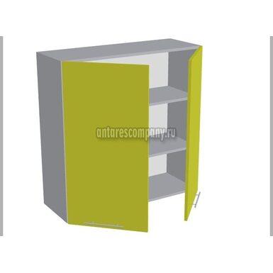 Шкаф двухдверный глухой кухня Базис Миксколор ширина 900 мм высота 960 мм Модуль №43
