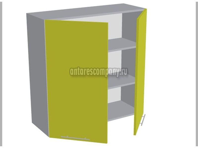 Шкаф двухдверный глухой кухня Базис Вудлайн ширина 900 мм высота 960 мм Модуль №43