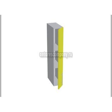 Шкаф однодверный глухой кухня Базис Миксколор ширина 150 мм высота 960 мм Модуль №159