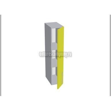 Шкаф однодверный глухой кухня Базис Linewood ширина 200 мм высота 960 мм Модуль №160