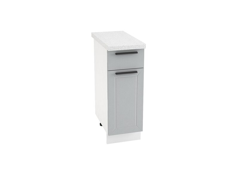 Стол однодверный 1 ящик кухня Глетчер ширина 300 мм высота 850 мм Модуль №29