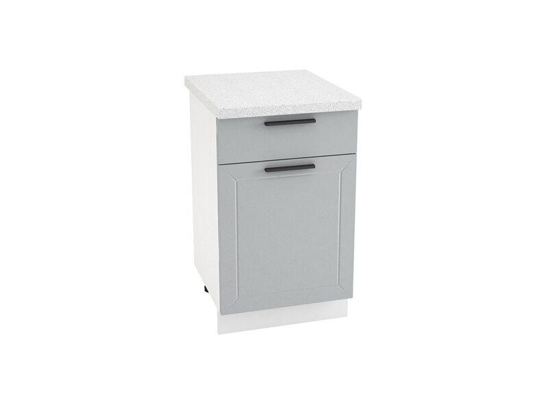 Стол однодверный 1 ящик кухня Глетчер ширина 500 мм высота 850 мм Модуль №31