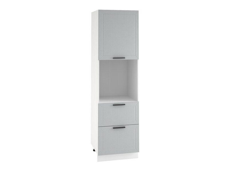 Колонна под духовой шкаф 2 ящика кухня Глетчер ширина 600 мм высота 2132 мм Модуль №73