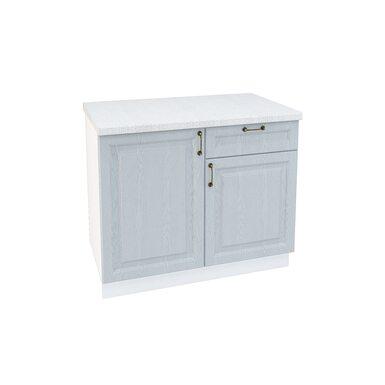 Стол комбинированный 1 ящик кухня Ницца ширина 1000 мм высота 850 мм Модуль №61