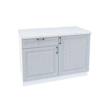 Стол комбинированный 1 ящик кухня Ницца ширина 1200 мм высота 850 мм Модуль №67