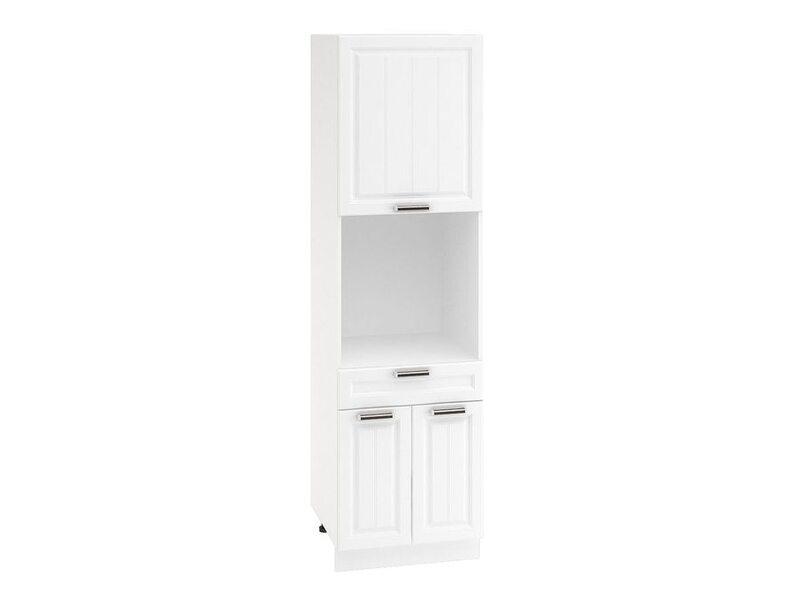 Колонна под духовой шкаф 1 ящик кухня Прага ширина 600 мм высота 2132 мм Модуль №69