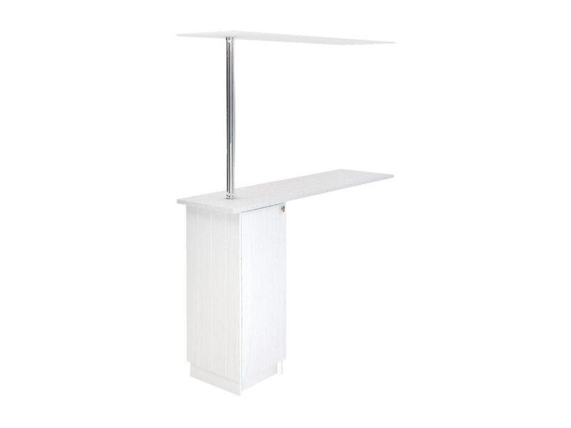 Стол с барной стойкой и надстройкой кухня Прованс ширина 1790 мм высота 2176 мм Модуль №154
