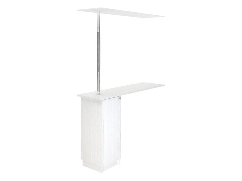 Стол с барной стойкой и надстройкой кухня Прованс ширина 1790 мм высота 2450 мм Модуль №158