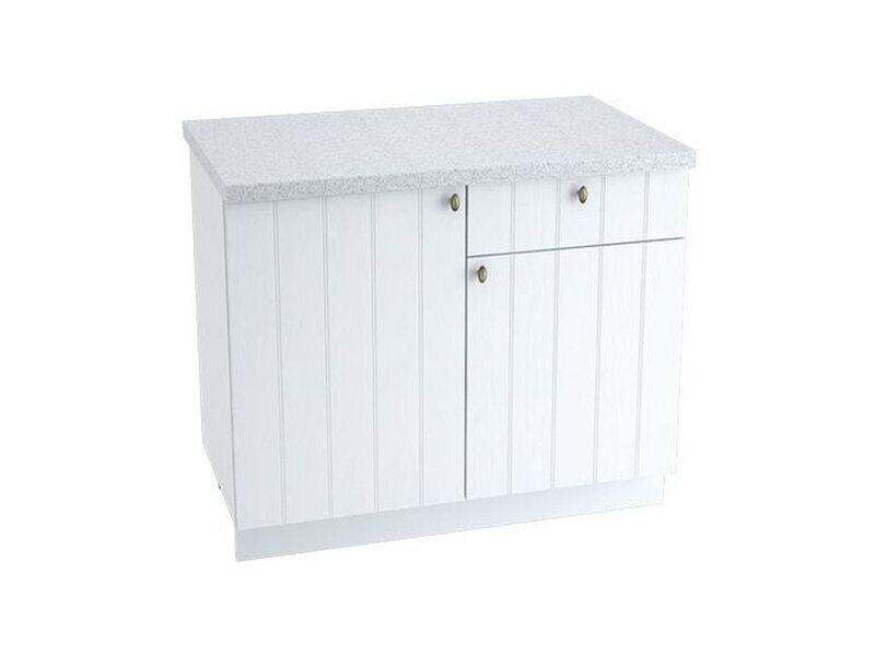 Стол комбинированный 1 ящик кухня Прованс ширина 1000 мм высота 850 мм Модуль №37