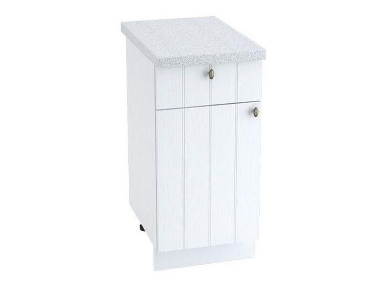Стол однодверный 1 ящик кухня Прованс ширина 400 мм высота 850 мм Модуль №33