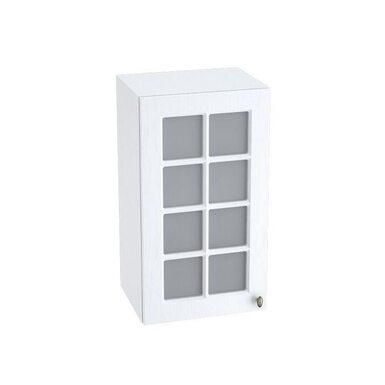 Навесной шкаф со стеклом на 400 мм