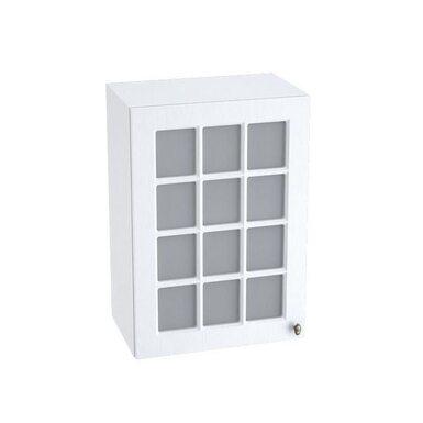 Навесной шкаф со стеклом на 500 мм