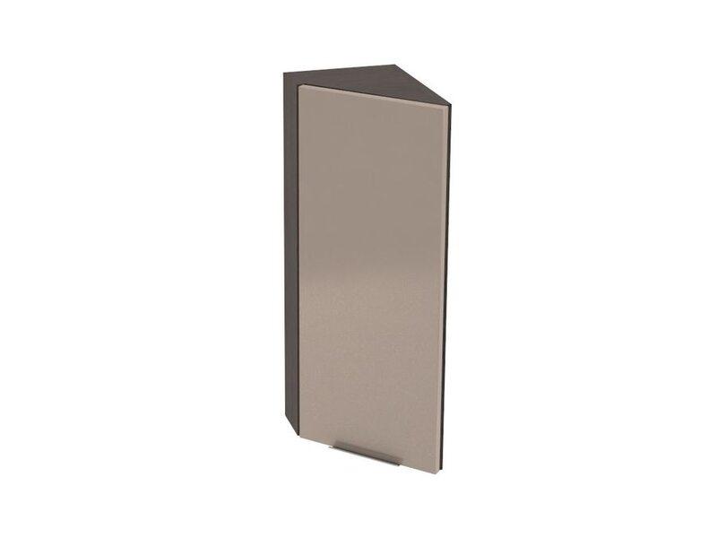Шкаф верхний тюльпан 224 мм №25 - Терра gloss