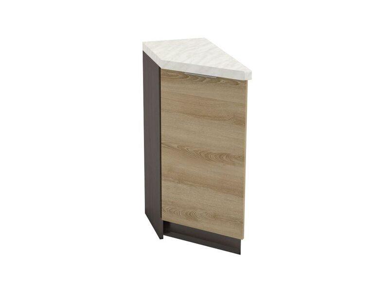 Шкаф нижний тюльпан левый 300 мм №51 - Терра soft