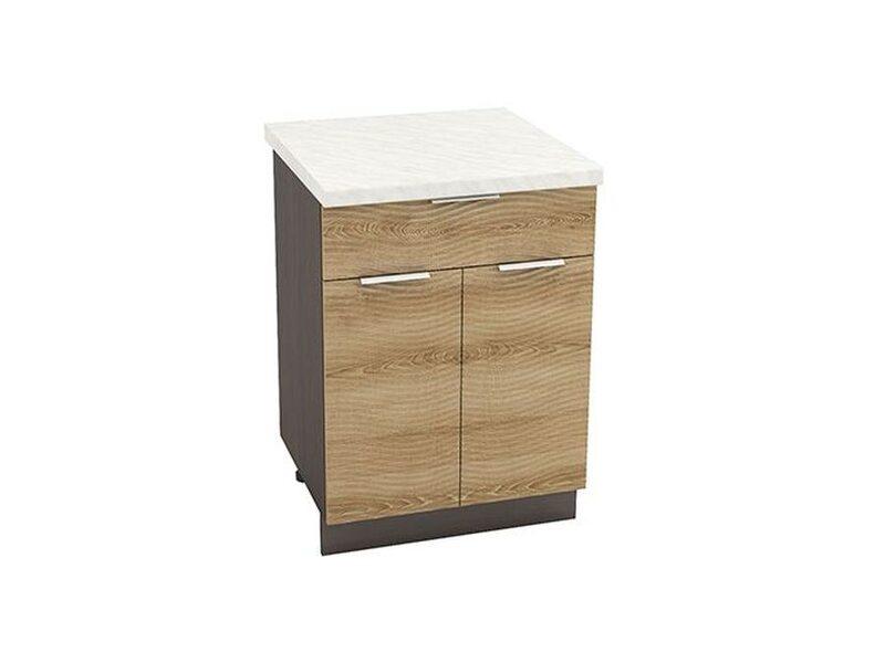 Рабочий стол с 1 ящиком 600 (кухня Терра soft)