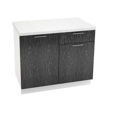 Стол комбинированный 1 ящик кухня Валерия-М ширина 1000 мм высота 850 мм Модуль №37