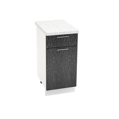 Стол однодверный 1 ящик кухня Валерия-М ширина 400 мм высота 850 мм Модуль №33