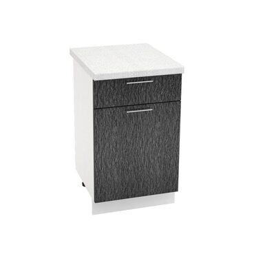 Стол однодверный 1 ящик кухня Валерия-М ширина 500 мм высота 850 мм Модуль №34