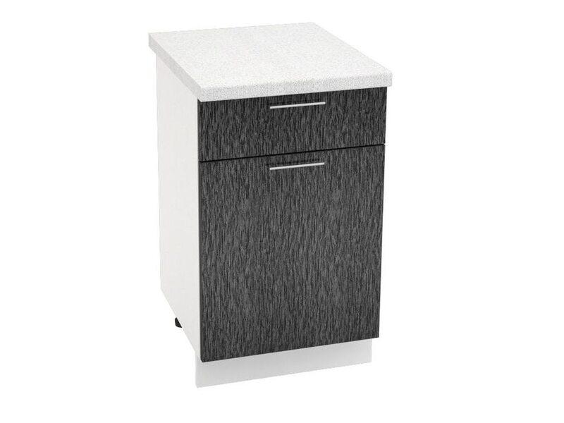 Стол однодверный 1 ящик кухня Валерия-М ширина 600 мм высота 850 мм Модуль №79