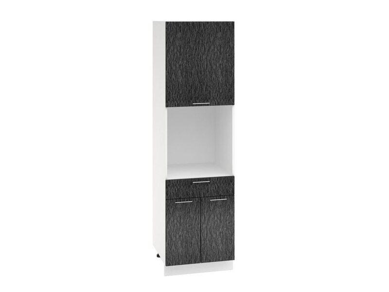 Колонна под духовой шкаф 1 ящик кухня Валерия-М ширина 600 мм высота 2132 мм Модуль №69