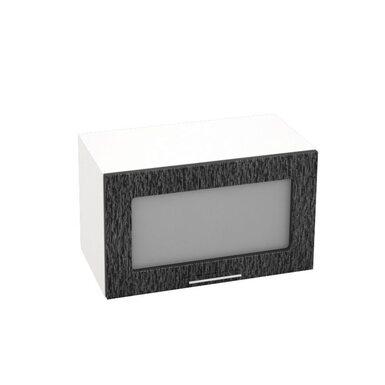 Шкаф горизонтальный со стеклом кухня Валерия-М ширина 600 мм высота 360 мм Модуль №20