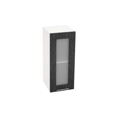Шкаф однодверный со стеклом кухня Валерия-М ширина 300 мм высота 720 мм Модуль №8