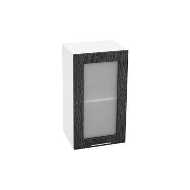 Шкаф однодверный со стеклом кухня Валерия-М ширина 400 мм высота 720 мм Модуль №9