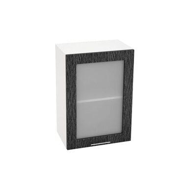 Шкаф однодверный со стеклом кухня Валерия-М ширина 500 мм высота 720 мм Модуль №10