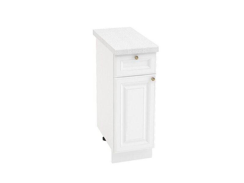 Стол однодверный 1 ящик, кухня Версаль. Ширина 300 мм высота 850 мм Модуль №32