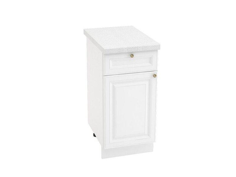 Стол однодверный 1 ящик, кухня Версаль. Ширина 400 мм высота 850 мм Модуль №33