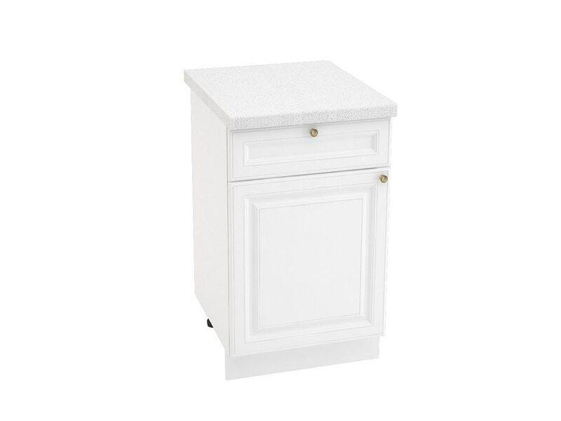 Стол однодверный 1 ящик, кухня Версаль. Ширина 500 мм высота 850 мм Модуль №34