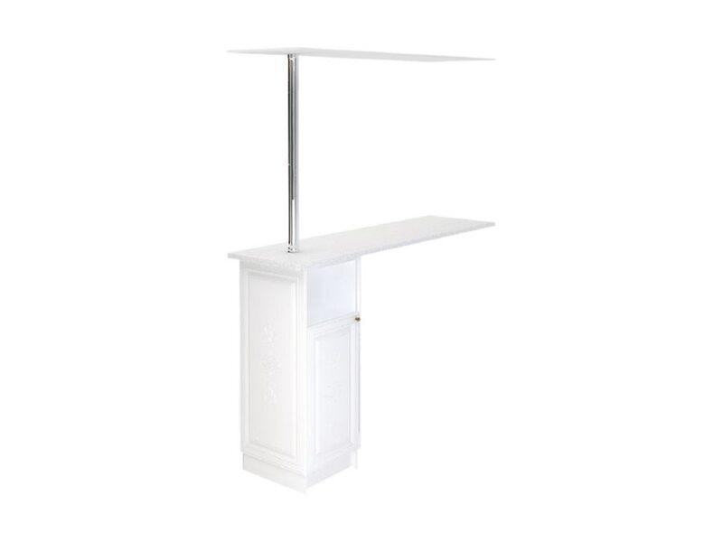 Стол с барной стойкой и надстройкой кухня Версаль ширина 1790 мм высота 2176 мм Модуль №152
