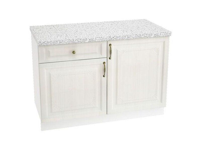 Стол комбинированный 1 ящик кухня Виктория ширина 1200 мм высота 850 мм Модуль №67