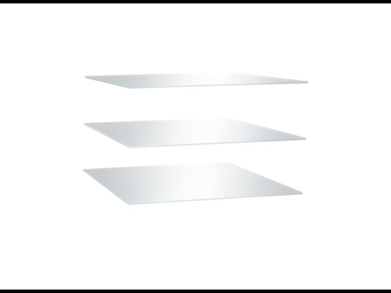 Комплект стеклянных полок к Витрине №2
