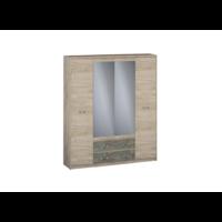 Шкаф 4-хстворчатый с ящиками (540)