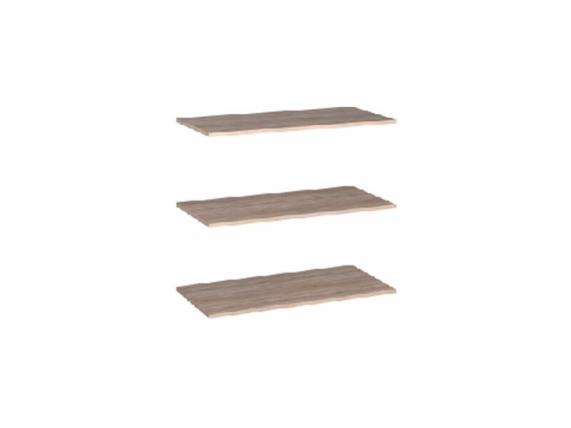 Комплект полок к шкафу 2-хстворчатому (440)