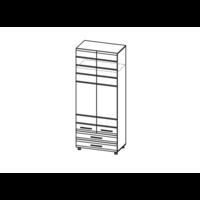 Шкаф многоцелевой 2-х створчатый ИН-112