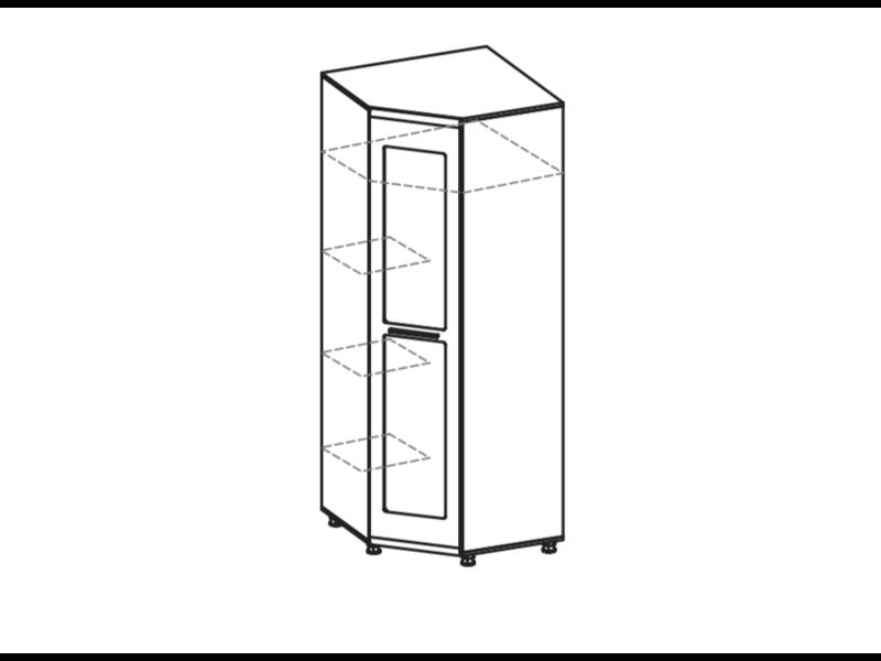 Угловой шкаф ИН-117