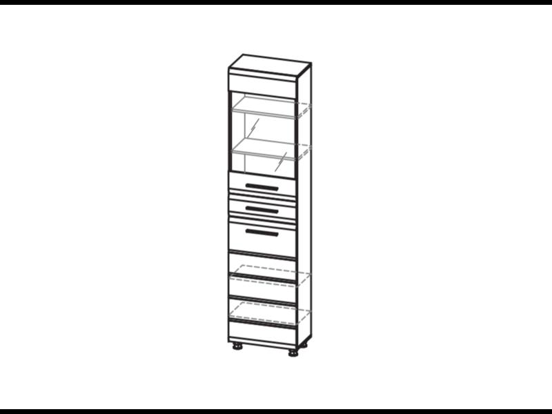 Пенал многоцелевой (одно стекло) ИН-126